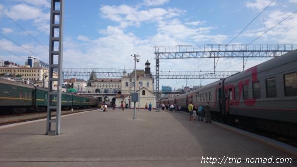 ロシア・シベリア鉄道『ウラジオストク(Владивосток』駅画像