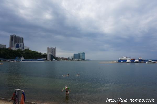 ロシア・シベリア鉄道『ウラジオストク(Владивосток』海画像