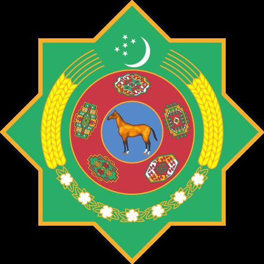『トルクメニスタン』国章画像