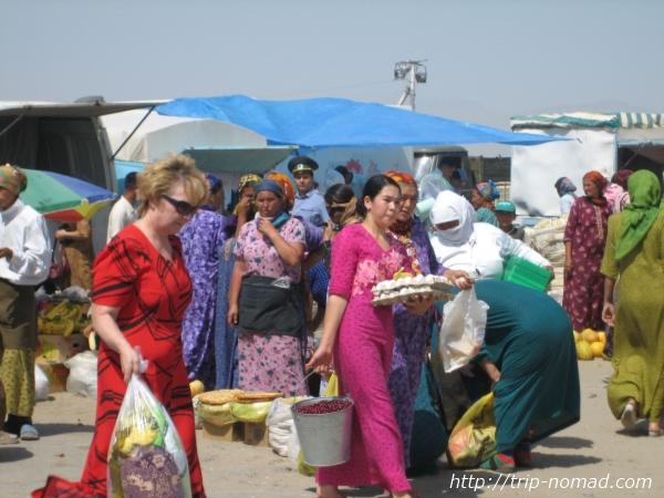 トルクメニスタン『民族衣装』女性画像