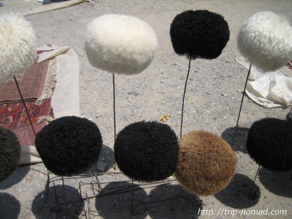 トルクメニスタン『民族衣装』帽子画像