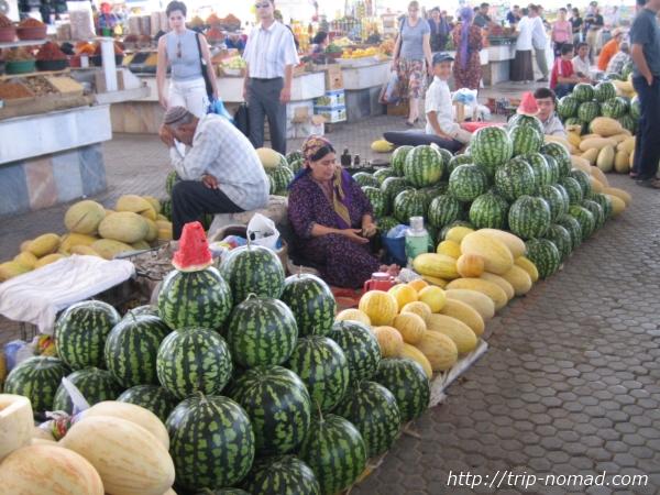 『トルクメニスタン』メロン画像