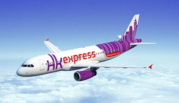 『香港エクスプレス』飛行機画像
