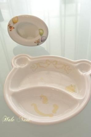 Hale Nani(ハレナニ)『ポーセラーツ』赤ちゃん用プレートとフォトフレーム画像
