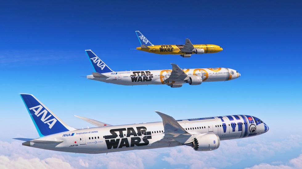 『STAR WARSプロジェクト』特別塗装機画像