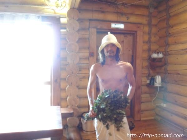 『シベリア鉄道に乗ってバイカル湖畔で本場のバーニャ』画像