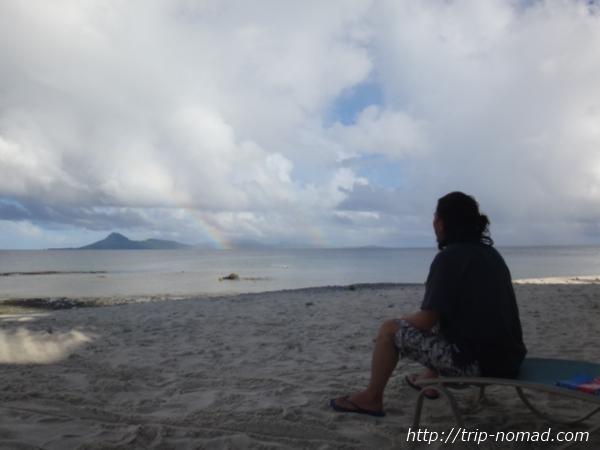 『ジープ島ダブルレインボー』画像