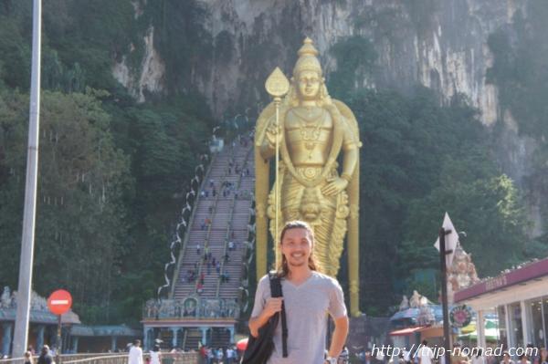 『マレーシアで巨大な観音様観光』画像