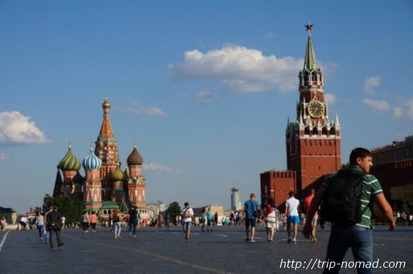 『ロシアモスクワ赤の広場』画像