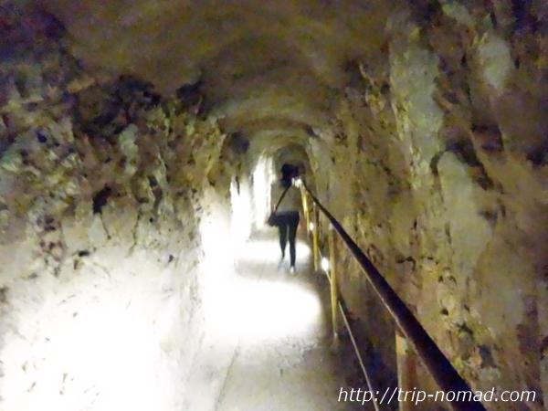 『ダイヤモンドヘッド』登山道トンネル画像