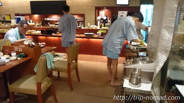神戸『神戸サウナ&スパ』朝食ビュッフェ