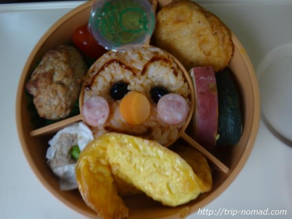 高松駅『アンパンマン弁当』弁当中身画像