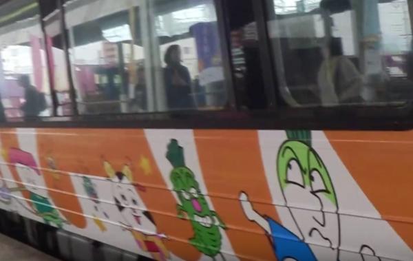 『「アンパンマン列車』画像