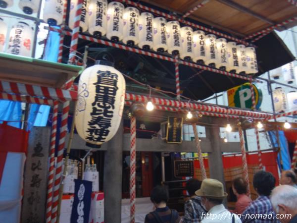 『日本橋恵比寿講べったら市』画像