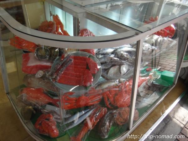 東京浅草「合羽橋道具街」食品サンプル屋『東京美研』カニやエビ食品サンプル画像