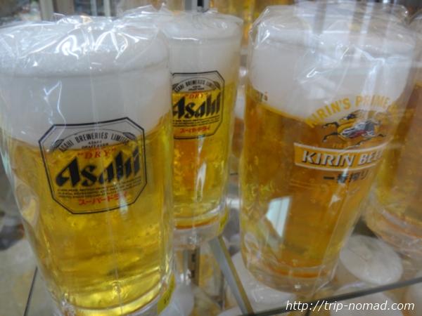 東京浅草「合羽橋道具街」食品サンプル屋『東京美研』生ビール食品サンプル画像
