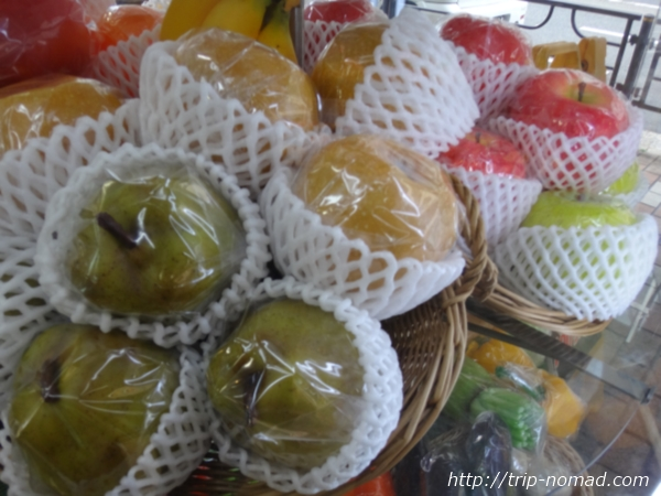 東京浅草「合羽橋道具街」食品サンプル屋『東京美研』果物食品サンプル画像