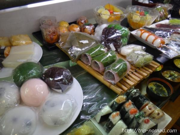 東京浅草「合羽橋道具街」食品サンプル屋『まいづる』和菓子食品サンプル画像