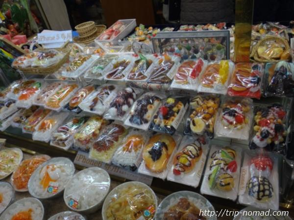東京浅草「合羽橋道具街」食品サンプル屋『まいづる』食品サンプルスマホケース(アイスクリーム)画像