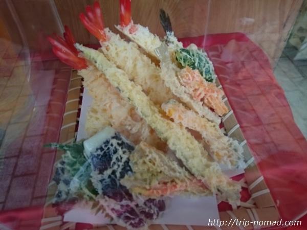 東京浅草「合羽橋道具街」食品サンプル屋『佐藤サンプル』天ぷらサンプル画像
