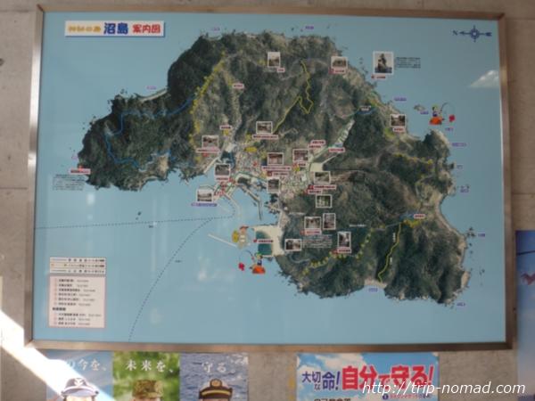『淡路島から沼島への行き方・ルート』「灘ターミナルセンター」館内画像