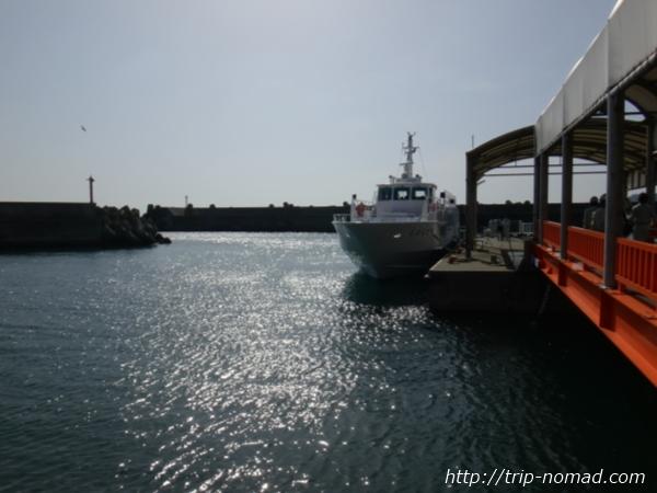 『淡路島から沼島への行き方・ルート』沼島汽船「しまちどり」号画像