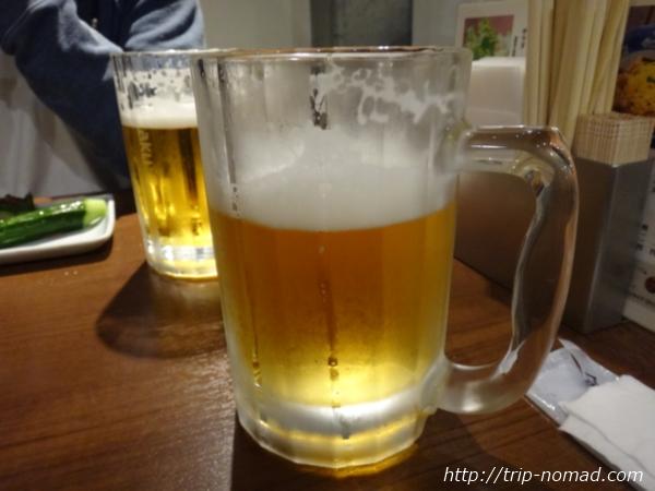 高知県高松丸亀『一鶴』の『生ビール』画像