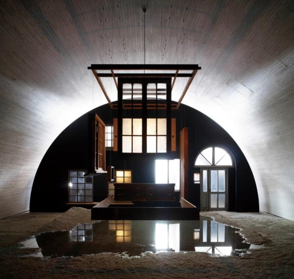 「犬島精錬所美術館」三島由紀夫アート作品画像