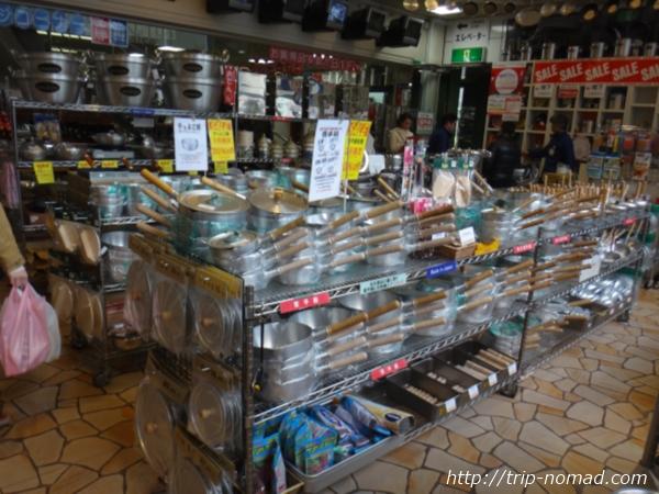 東京浅草「合羽橋道具街」『お鍋の博物館』画像
