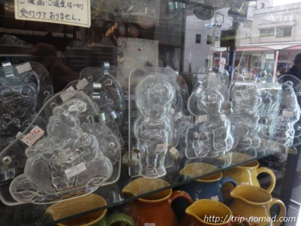 東京浅草「かっぱ橋道具街」『吉田菓子道具店』年代物の型画像