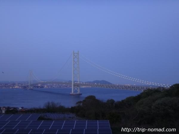 岩屋温泉『美湯松帆の郷』明石海峡大橋が一望画像