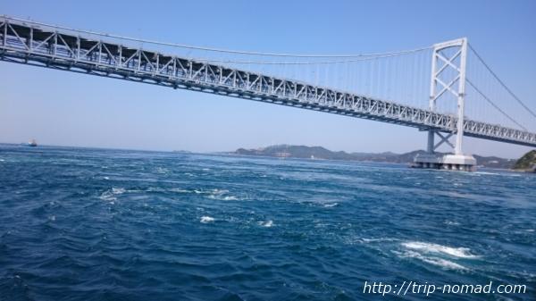 『鳴門海峡の渦潮』画像