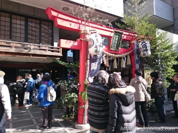 『日本橋七福神巡り』松島神社画像