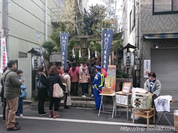 『日本橋七福神巡り』末廣神社画像