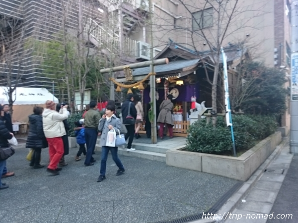 『日本橋七福神巡り』茶ノ木神社画像