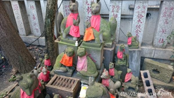 『日本橋七福神巡り』笠間稲荷神社お稲荷さん画像