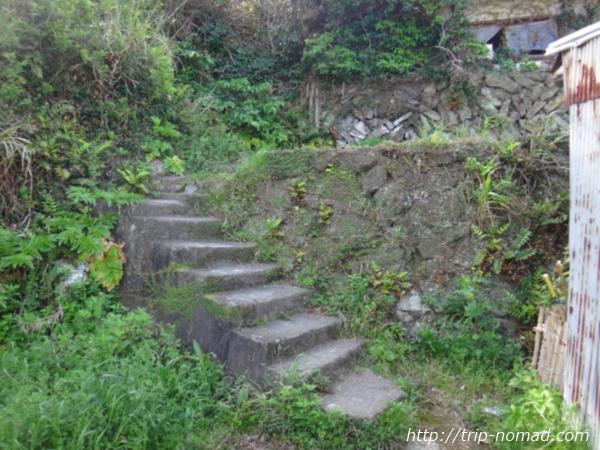 沼島『おのころ神社』入り口階段画像