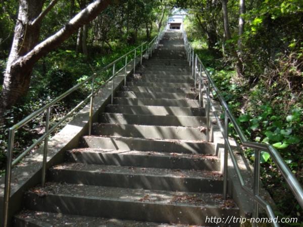沼島『おのころ神社』階段画像