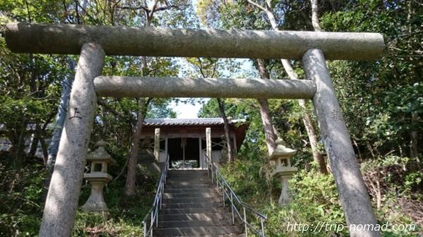 沼島『おのころ神社』鳥居画像