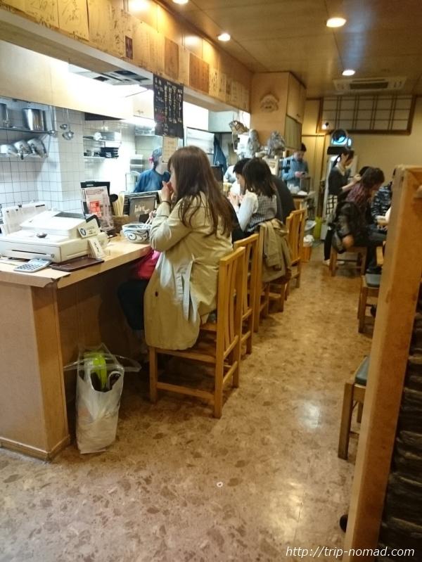 高松駅深夜のカレーうどん『うどん家五右衛門』店舗外観画像