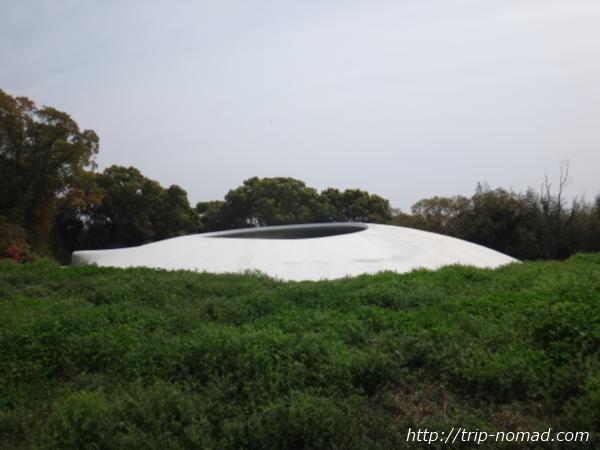 「豊島美術館」外観画像