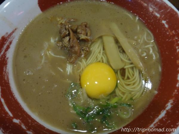 徳島駅前グルメ『「麺王 」さんの徳島ラーメン』画像