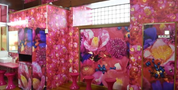 「資生堂TSUBAKI×蜷川実花」コラボイベント『TSUBAKI湯』画像