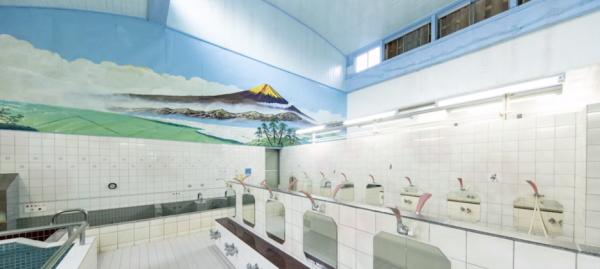 「資生堂TSUBAKI×蜷川実花」コラボイベント『TSUBAKI湯』ビフォーアフターのビフォー画像