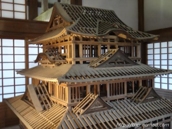 『宇和島城』内部画像
