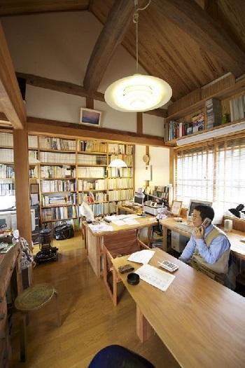 愛媛県宇和島市「與那原浩建築設計室」オフィス画像