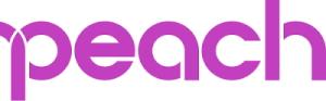 『ピーチ』ロゴ画像