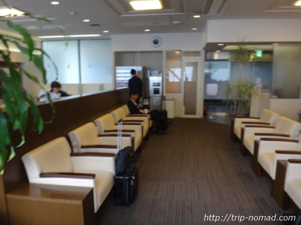 高松空港ビジネスラウンジ『ラウンジ讃岐』ラウンジ内部画像