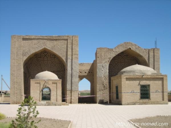 トルクメニスタン世界遺産『メルヴ遺跡』アシハブスの建物画像