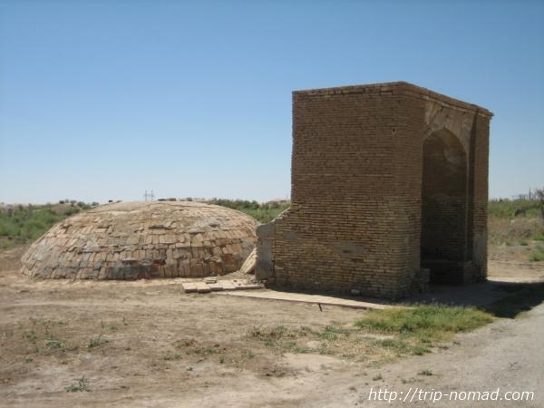 トルクメニスタン世界遺産『メルヴ遺跡』水槽(water cistern)画像